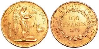 100 Χρυσά Φράγκα/ 100 Gold Francs