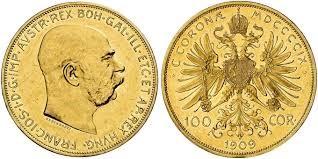 100 Χρυσές Κορώνες Franz Joseph I / 100 Gold Kronen  Franz Joseph I