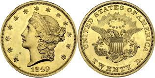 20 Χρυσά Δολάρια / 20 Gold Dollars Liberty Head-Double Eagle