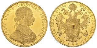 4 Χρυσά Δουκάτα Franz Joseph I / 4 Gold Ducats Franz Joseph I