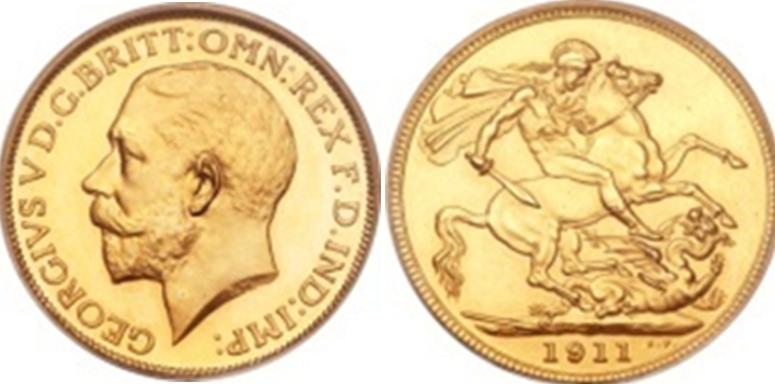 ½ Χρυσές Λίρες Αγγλίας(Μισόλιρο) -1/2 Gold Half-Sovereign