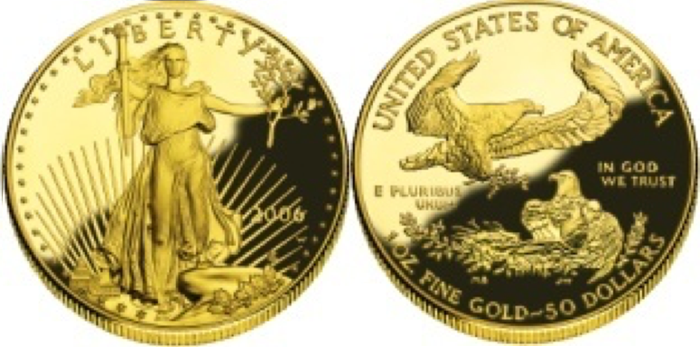 50 Χρυσά Δολάρια /50 Gold Dollars Saint-Gaudens Double Eagle