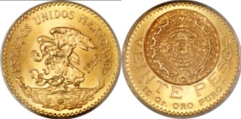 20 Χρυσά Πέσος / 20 Gold Pesos