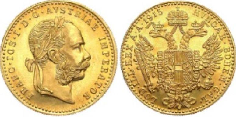 1 Χρυσό Δουκάτο Franz Joseph I / 1 Gold Ducat Franz Joseph I