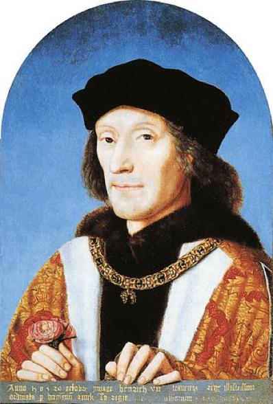 Ερρίκος Ζ χρυσή λίρα αγγλίας