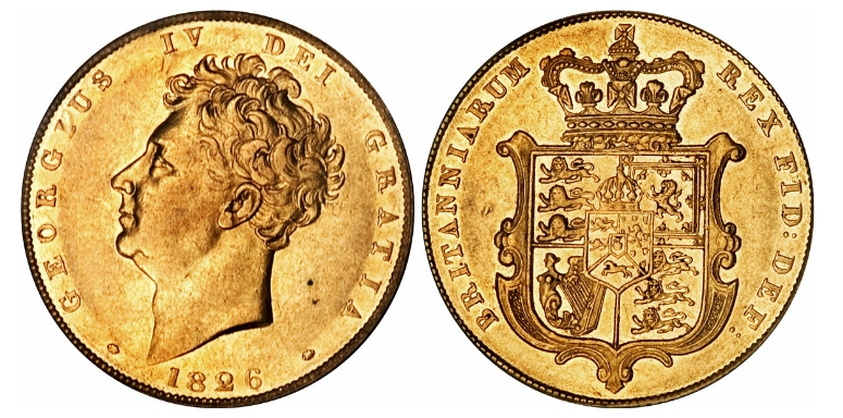 Gold Sovereign George ΙV