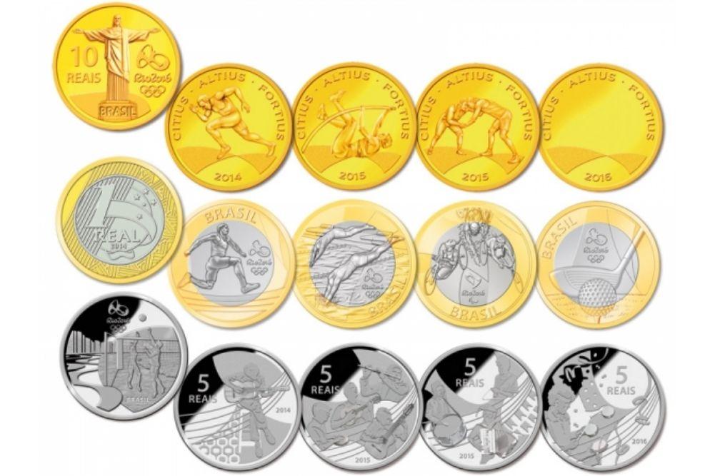 χρυσα νομισματα ολυμπιακων αγωνων Ριο αξια