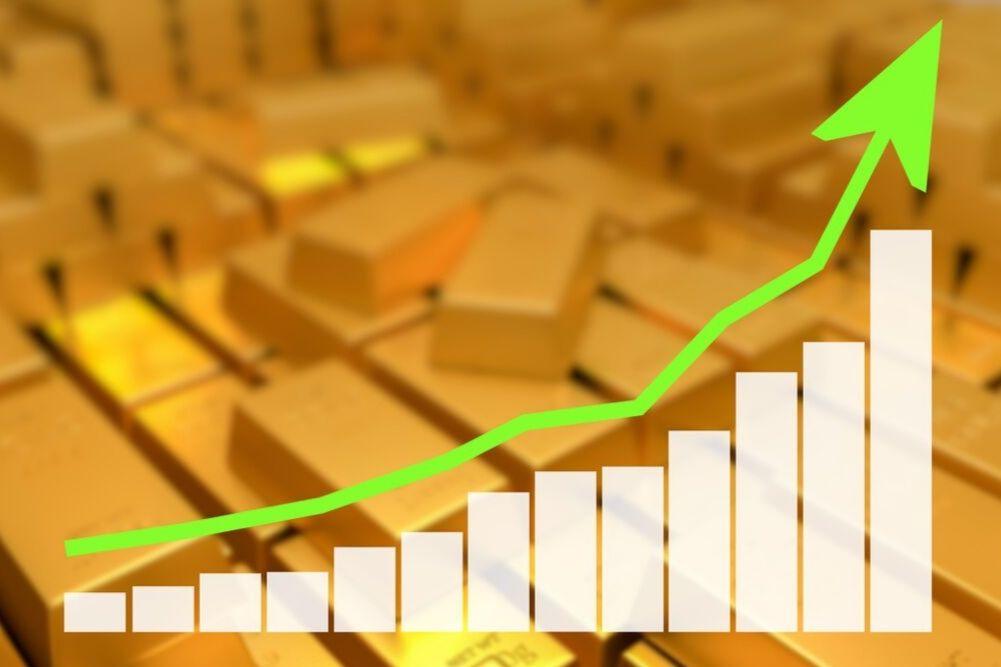 η ανοδική τιμή του χρυσού είναι πιο σταθερή σε σχέση με του ασημιού