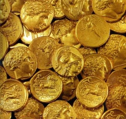 χρυσά νομίσματα χρήση και αξιοποίηση του χρυσού