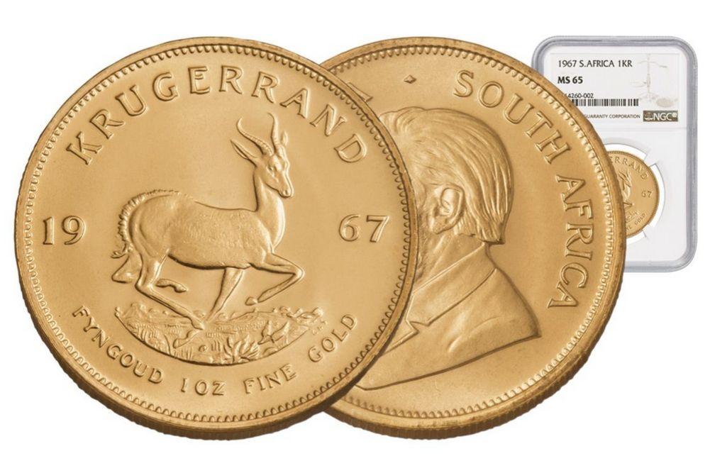 premium uncirculated χρυσο κρουγκεραντ