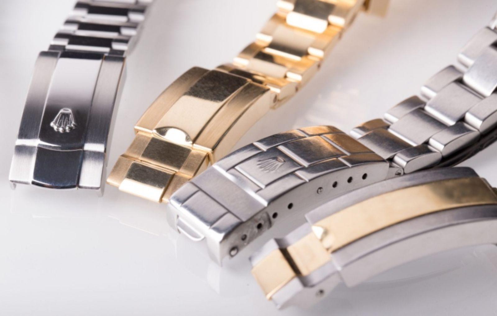 4+1 Τύποι Μπρασελέ των Ρολογιών Rolex