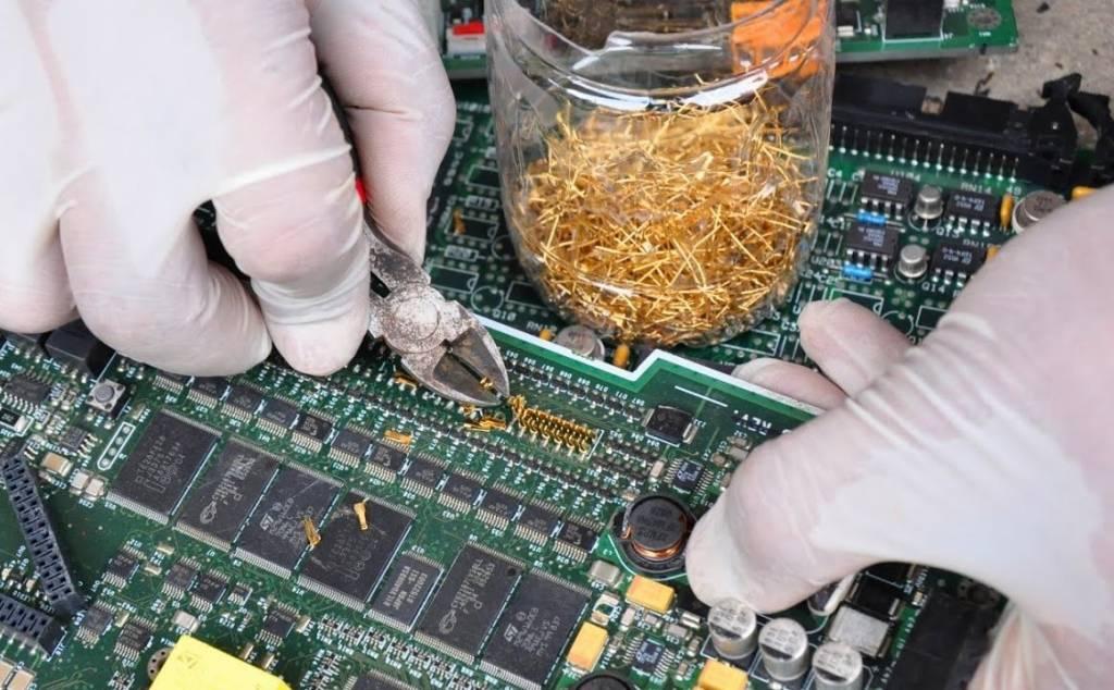 Μέταλλο χρυσού σε βιομηχανικές εφαρμογές